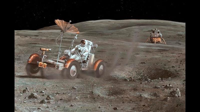 Apollo 16 Lunar Rover Grand Prix [RESTORED][STABILIZED][60fps]