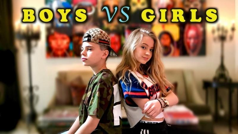 Christian Lalama and Lexi Drew - Gods Plan (Boys Vs Girls)