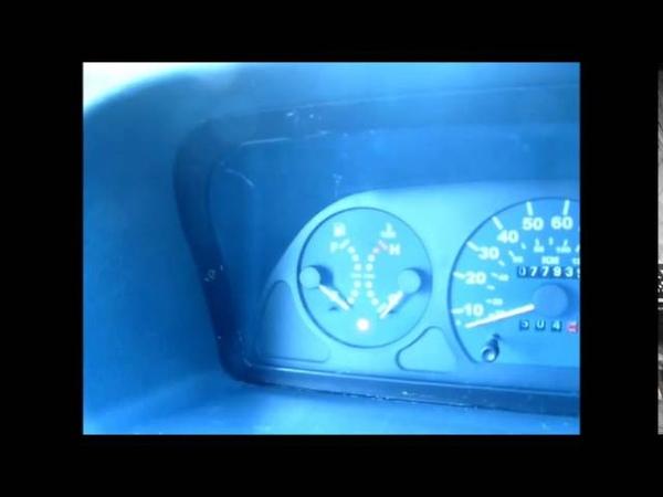 Fiat Ducato fuel gauge problem A653 unit