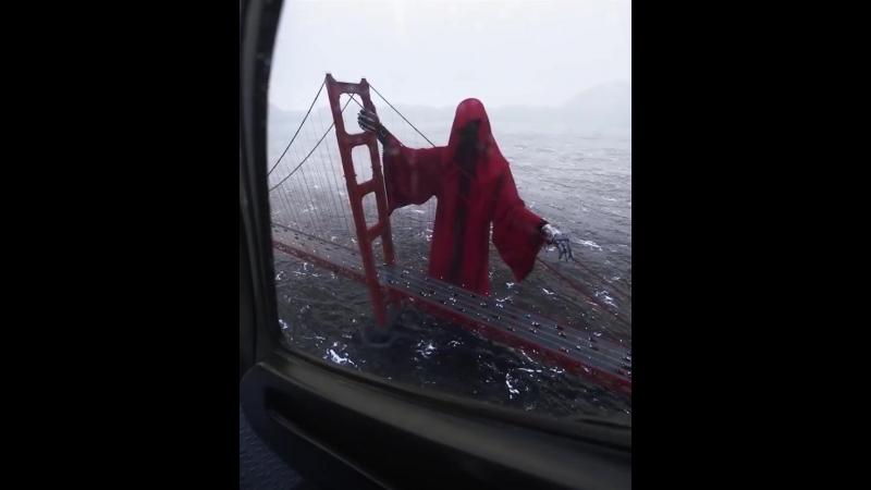 Жуткая смерть на мосту Золотые ворота