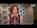 2015 Карен Гиллан о поцелуе с Джеймсом МакЭвоем русские субтитры