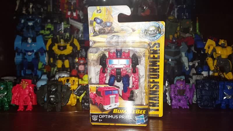 Transformers Bumblebee Movie Legion Class Optimus Prime Review