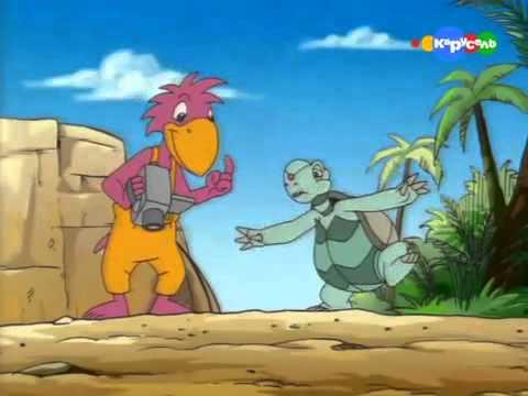 Спроси у Альберта Динозавры правят миром Развивающий мультфильм