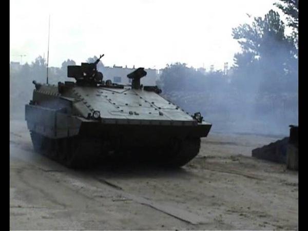Тяжелая БМП - 55 на базе среднего танка Т-55 (Харьков)