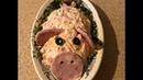 Новогодний салат Свинка Удивите ваших гостей