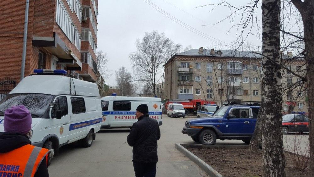 Томских силовиков подняли по тревоге из-за сообщения о подозрительном предмете