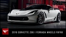 2016 Corvette Z06 The Perfect Match Ferrada Wheels F8FR8