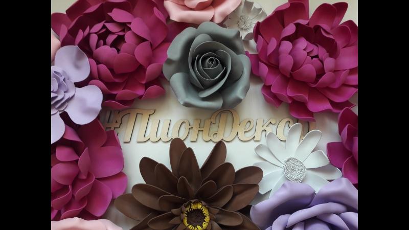 Цветочная стена для SweetStudio