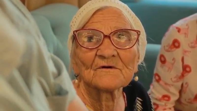 Баба Лена в Туве