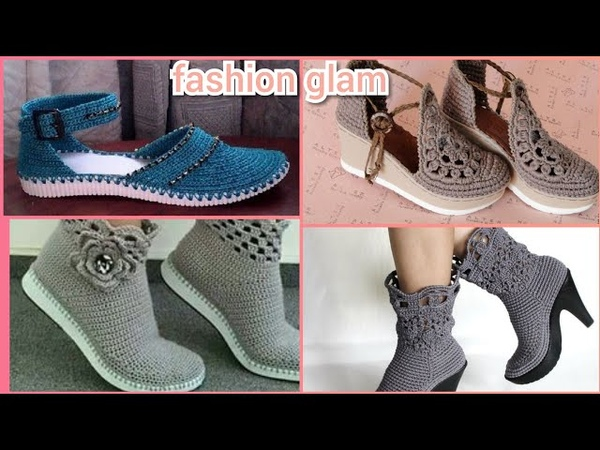 Gorgeous Different Style Of Crochet Women's Sandal's and Shoes