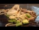 Тайваньская Уличная Еда - Гигантская Устрица-Гриль, Стейк из говядины , Жареное