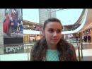 Девушка переволновалась на интервью