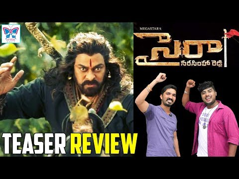 Sye Raa Narasimha Reddy Teaser Review   Chiranjeevi   RamCharan   Surender Reddy    Myra Media