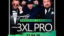 Приглашение на pre-party Paradise Tour 2019 от группы 3XL Pro!