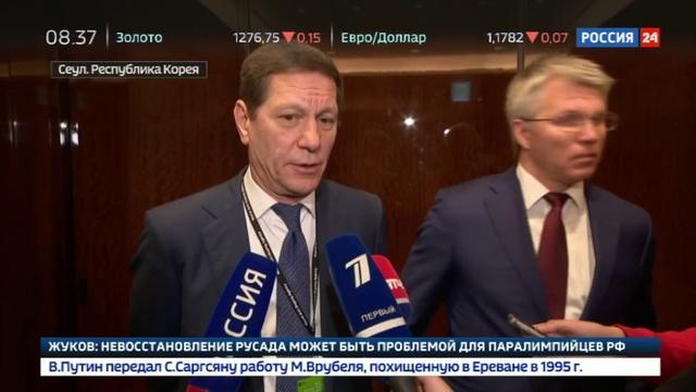 Новости на Россия 24 • Совет учредителей WADA не восстановил РУСАДА в правах