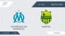 AFL18. France. Ligue 1. Day 21. Olympique de Marseille - Nantes
