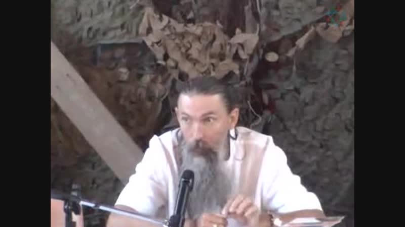 Трехлебов А. В. 4-е Всенародное Вече Родноверов г. Сочи. Часть 2. 10.2006 год