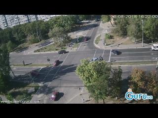 ДТП в Мариуполе на пр. Мира и ул. Зелинского.