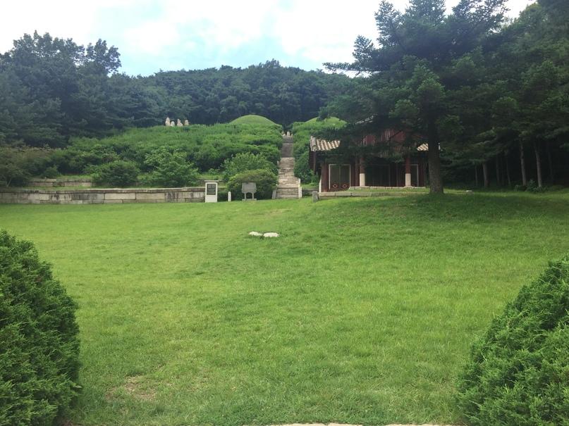 Отчет о путешествии в Северную Корею 2018. Путь к гробницам