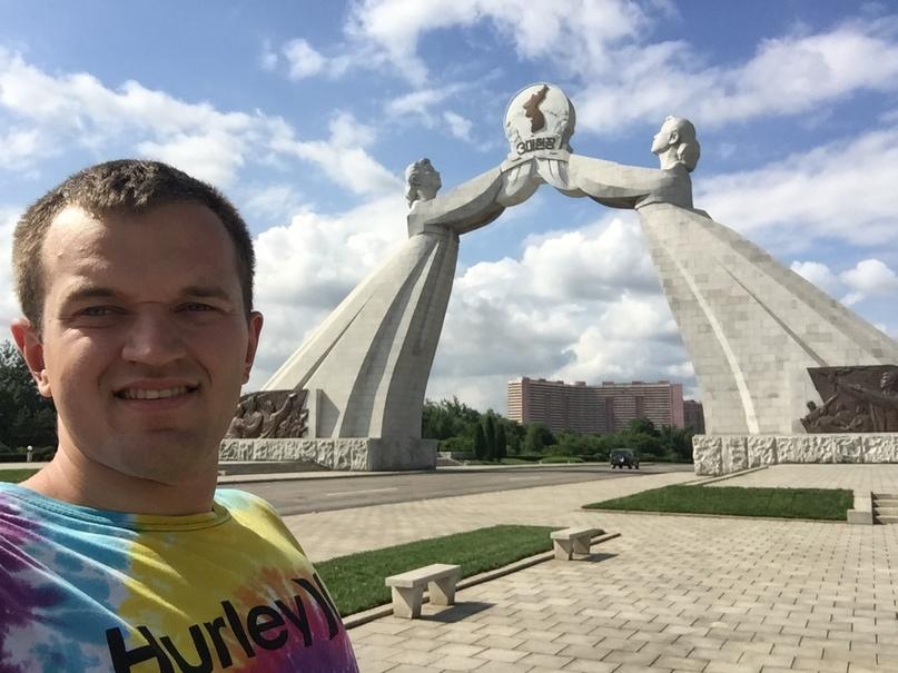 Отчет о путешествии в Северную Корею 2018. Арка воссоединения