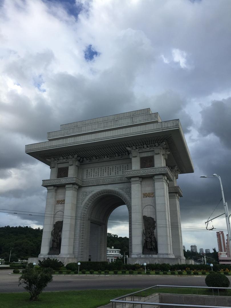 Отчет о путешествии в Северную Корею 2018. Триумфальная арка
