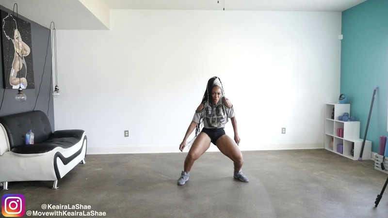 8 Minute EASY Dance Workout -Keaira LaShae