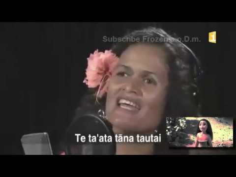 Moana: Tahitian- Behind The Mic Version/Studio Version- OFFICIAL [HD]