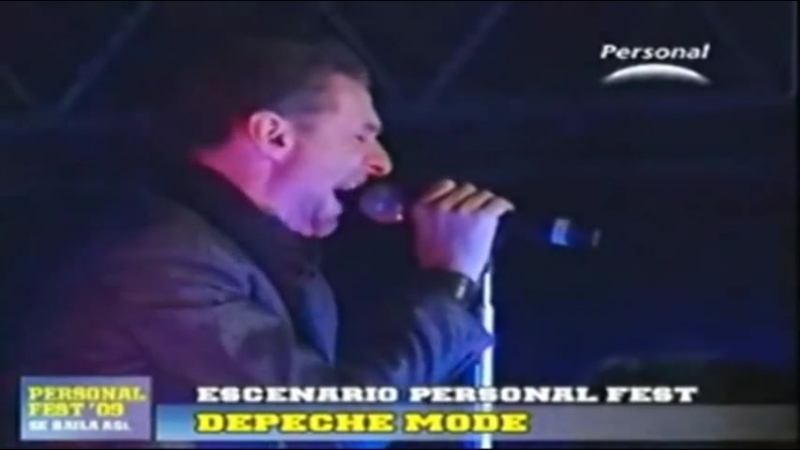 Depeche Mode - Wrong live at Personal Festival, Buenos Aires 17/10/2009