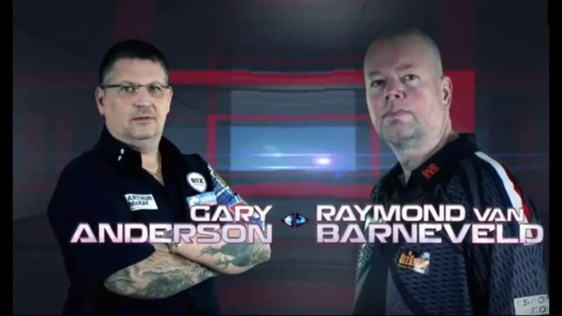 2018 Brisbane Darts Masters Quarter Final G.Anderson vs van Barneveld