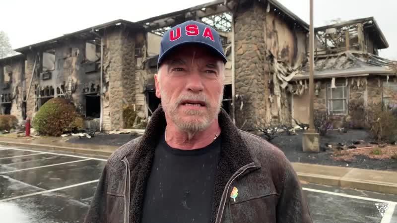 Arnold Schwarzenegger has a hopeful message. the CampFire