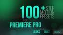 100 Stop Motion Preset Premiere Pro template Free Download