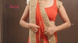 How to Wear Gujarati Style Saree Step by Step Perfectly | Lehenga Style | Newlook