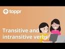 Class 8 English Transitive and Intransitive Verbs Verbs CBSE/NCERT