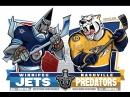 NHL 17-18. SC R2 G7. 10.05.18. WPG - NSH. Евроспорт.