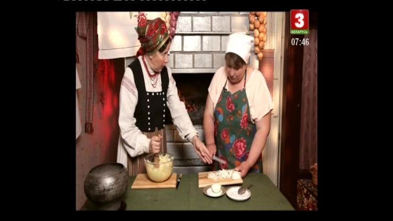 47 Беларуская кухня Бульбяная каша с ряженкой