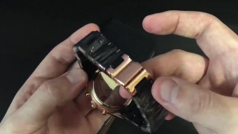 Комплект часы Emporio Armani клатч Emporio Armani в подарок!