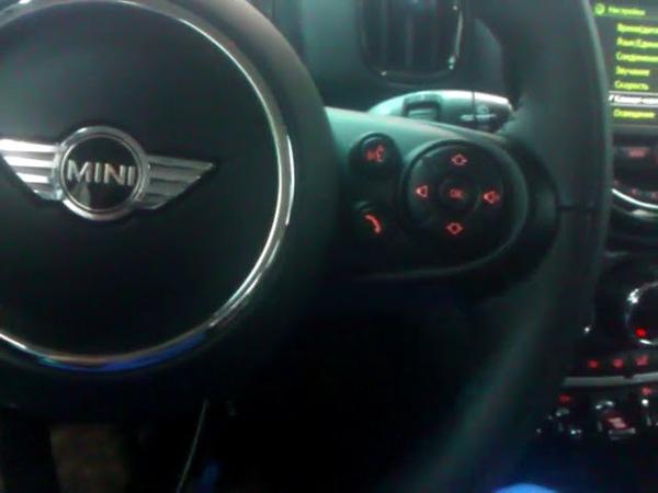 Иммобилайзер Призрак-540. Установлен на автомобиле MINI Countryman