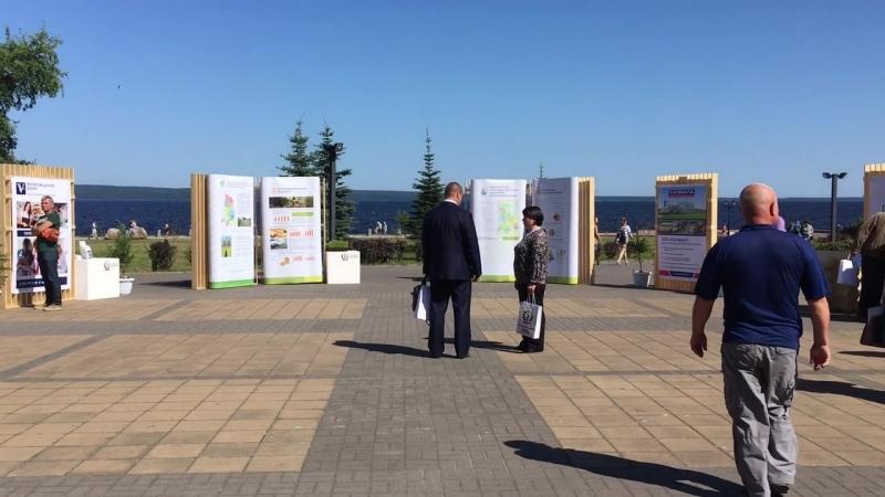 Выставка на Национальном лесном форуме в г. Петрозаводск.