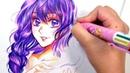No Erasing | Colorful Ballpoint Pen Artwork | Cheap Art Supply