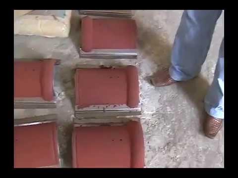 Производство цементно-песчаной черепицы