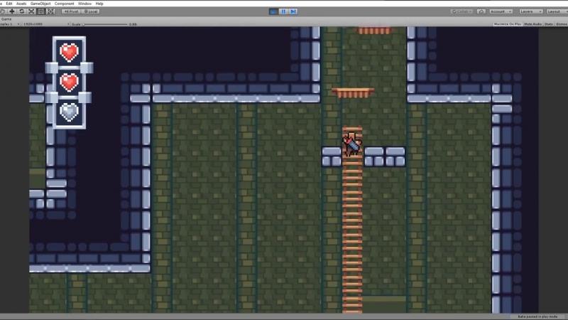 Как создать пиксельарт платформер в Unity. Обзор ассета для создания 2D платформ_HD.mp4