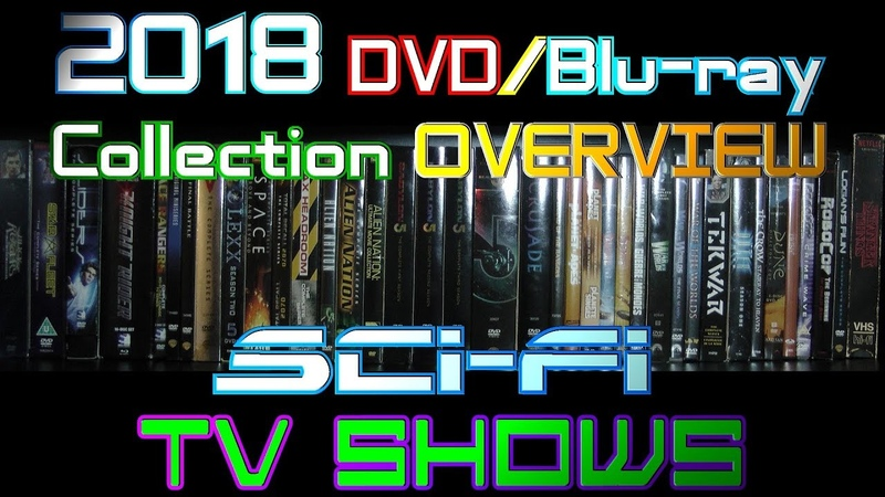 2018 DVD/Blu-ray Collection Overview 26 - Sci-Fi TV Shows
