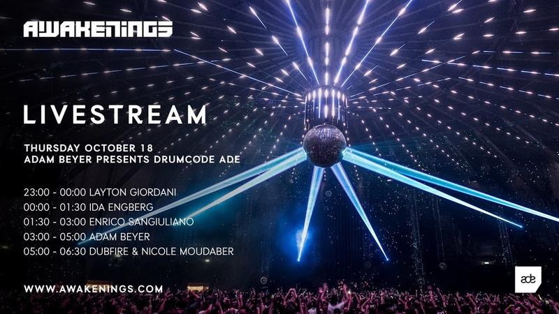 Awakenings X Adam Beyer presents Drumcode ADE 2018 Livestream