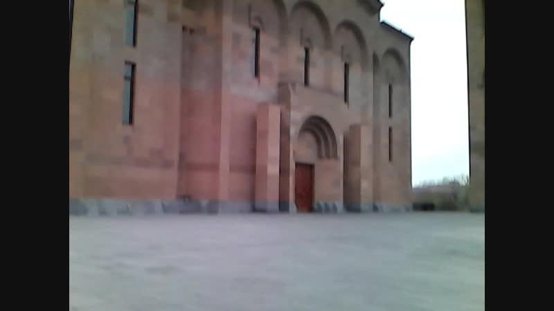 Церковь Сурб Хач ( Святой Крест ) в Ереване .