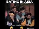 Убойный прикол в азиатском ресторане