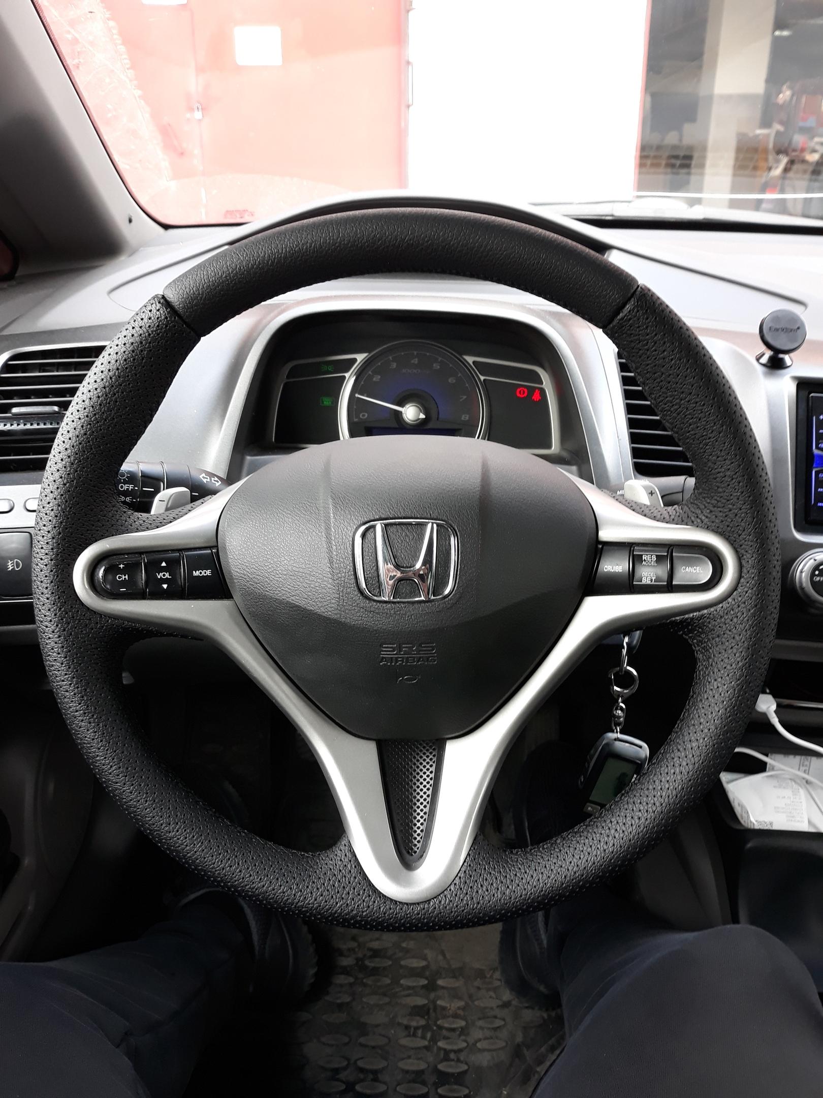 Перетяжка руля Honda Civic