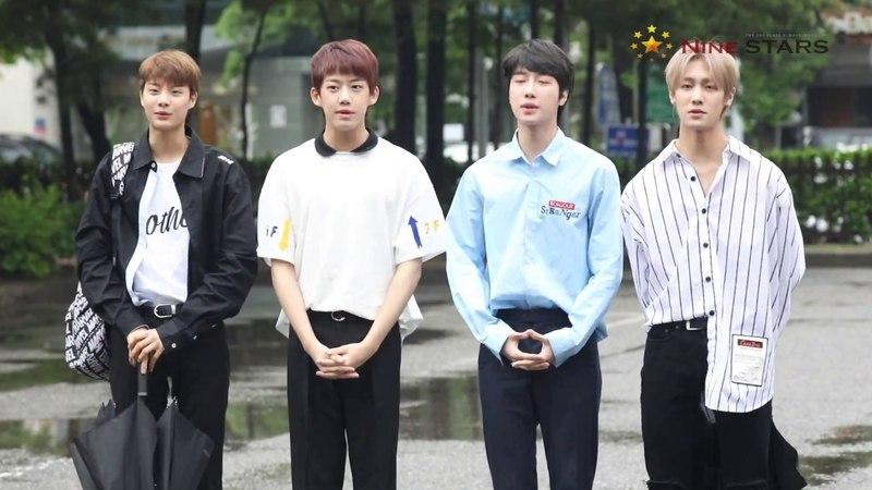 [Nine Stars] 아이즈 IZ 훈훈한 비주얼 뮤직뱅크 출근길
