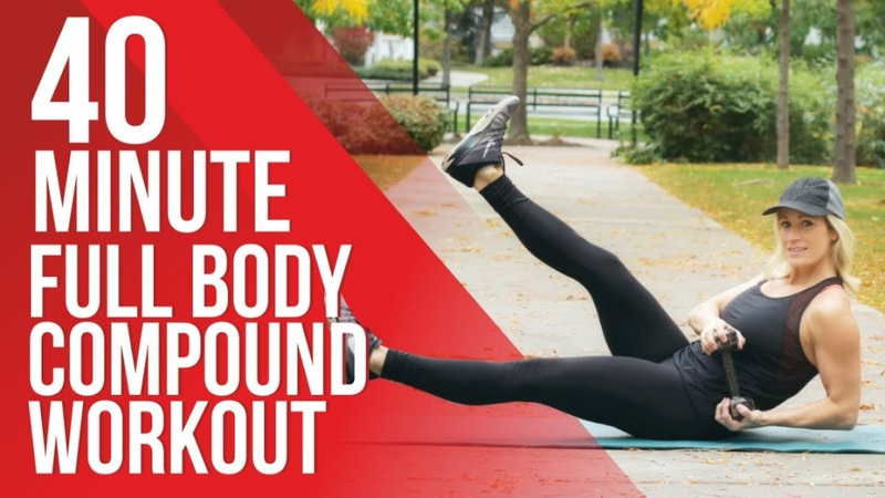 Full Body Compound Workout | Compound Exercises Using Dumbbells