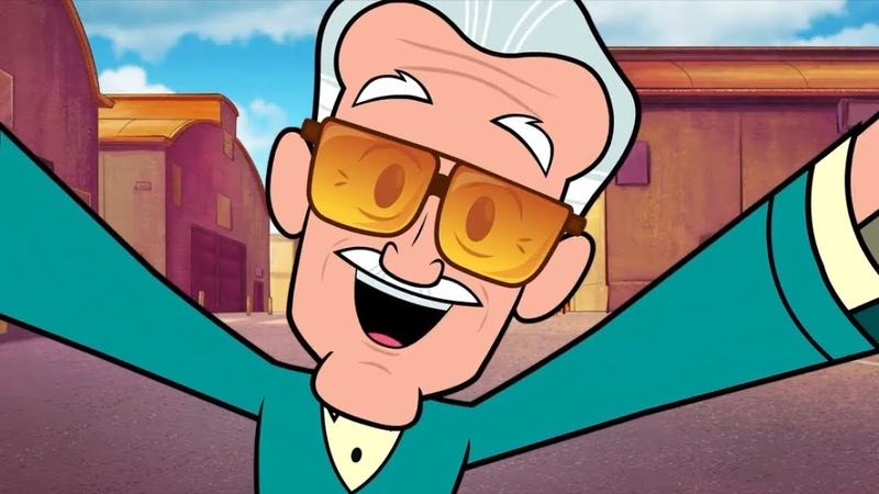 TEEN TITANS GO! TO THE MOVIES Stan Lee Cameo Clip [HD] Kristen Bell, Khary Payton, Will Arnett