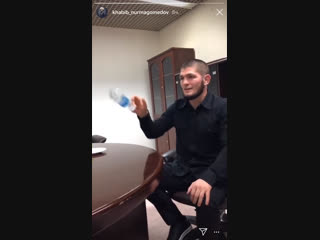Bottle flip challenge and khabib nurmagomedov